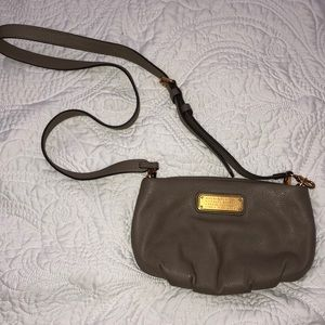Marc Jacobs Gray Satchel Leather